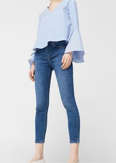 Jean skinny crop -  Femme | MANGO France