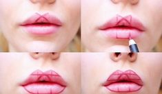 Makeup Trick: Fuller Lips Without Surgery