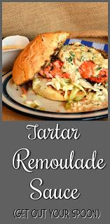 Tartar Remoulade Sauce with Old Bay - This Is How I Cook Sauce Recipes, Seafood Recipes, Appetizer Recipes, Cooking Recipes, Healthy Recipes, Seafood Menu, Fish Recipes, Healthy Foods, Recipes