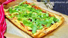 Pizza na cieście francuskim | Przepisy Kulinarne