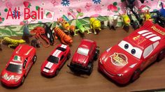 A Lot of Animals Toys and Car Toys
