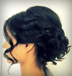 soft looking updo