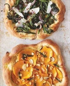 Okay maybe not reeally healthy...but nice idea pumpkin pizza with a big salad next to it:)
