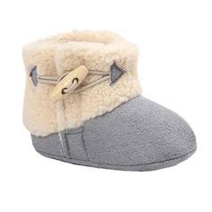 MosunxTM Baby Warm Soft Sole Snow Boots Soft Crib Shoes Toddler Boots 06M Gray -- Be sure to check out this awesome product.Note:It is affiliate link to Amazon.