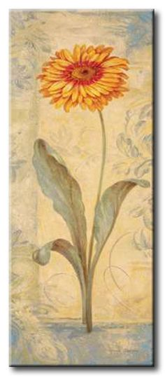 GlA_395_Topaz Skies III / Cuadro Flores, Flor Vintage