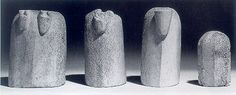 Whale bone chessmen,   Late 11th c., found at Witchampton, Dorset   - a set of five-inch-high chessmen, made of whalebone and dating from the 11th century. These were found during the excavation of the old manor house – sometimes incorrectly referred to as Abbey barn – whose ruins can still be seen alongside the river.