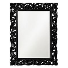 I pinned this Howard Elliott Chateau Mirror in Black from the studio ten 25 event at Joss and Main!