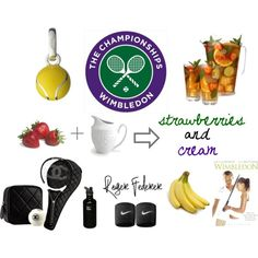 """Wimbledon"" by johannawallasvaara on Polyvore"