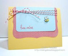 Bee Mine by ltecler - Cards and Paper Crafts at Splitcoaststampers