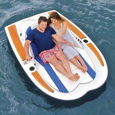 The Electric Motorboat - Hammacher Schlemmer