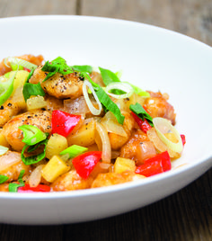 Paleo Chicken Sweet & Sour vidiskochtuete.ch Paleo, Pork, Chicken, Sweet, Ethnic Recipes, Cooking, Kale Stir Fry, Candy, Beach Wrap