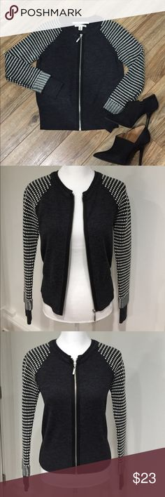 """Max Studio Wool Sweater Jacket Excellent used condition - no flaws!  17"""" armpit to armpit lying flat.  21"""" shoulder to hem. Max Studio Sweaters Cardigans"""
