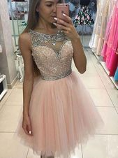 Tulle Homecoming Dress,homecoming Dresses,pink Tulle Short Prom Dress For Teens, Pink Homecoming Dress Junior Homecoming Dresses, Sequin Prom Dresses, Cute Prom Dresses, Prom Dresses For Teens, Dresses Short, Cute Wedding Dress, Tulle Dress, Cheap Dresses, Dress Prom