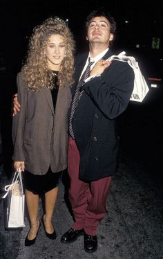 There are so many eighties things going on here, but the most eighties thing of all is Sarah Jessica Parker's ankle bracelet. October 7, 1987