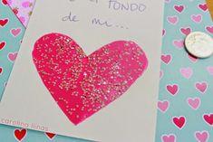 Pensando en ideas diferentes para hacer una tarjeta, me encontré en el súper mercado un juego de niños donde ellos deben raspar para descubrir los mensajes ocultos y pensé que esta sería una linda ide Origami, Valentines Day, Card Making, How To Make, Cards, Diy, Inspiration, Ideas, Dental