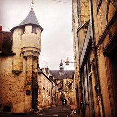 Nevers nel Bourgogne