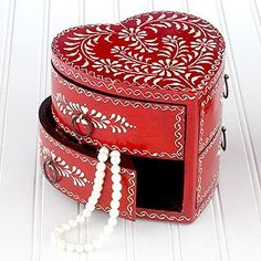 Jewelry Box - a Gift For Valentines Day