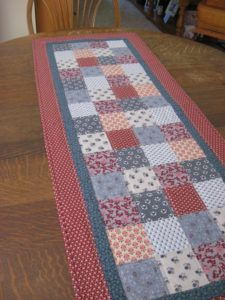 Primitive Table Runners Patterns