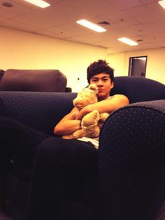 I don't know which one is cuter, no I do. It's definitely Calum