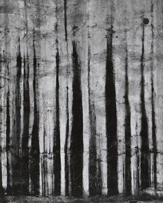 """""""Chicago 6"""" Aaron Siskind. (1961 Gelatin Silver Print).  Line. The lines in this picture are structured a little more differently than just normal, straight lines drawn across a piece of paper. The lines get smaller the longer they get and kind of fade off at the end of it."""