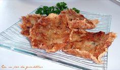 ¡Con un par de guindillas!: Tortillas de camarones