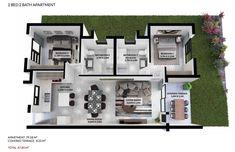 7 On Middle Floor Plan