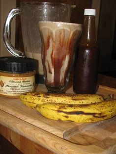 Chocolate, Banana and Almond Butter Smoothie- 151 calories
