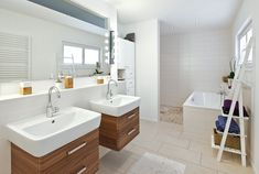 Double Vanity, Planer, Bathroom, Build House, Architecture, Homes, Washroom, Full Bath, Bath