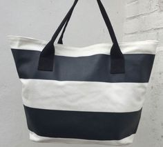 Monochrome Beach Bags by Beach Bunnies at KUKShades Black And White Beach, Black White Stripes, Uk Brands, Beach Bunny, Day For Night, Beach Day, Color Patterns, Monochrome, Summer Outfits
