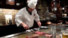 Real Kobe beef teppanyaki Steak Land restaurant Kobe, Hyogo, Japan