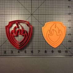 Paw Patrol- Marshall Badge 101 Cookie Cutter