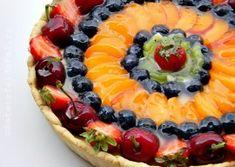 TARTA CU CREMA DE VANILIE SI FRUCTE Baking Recipes, Dessert Recipes, Romanian Food, Cake Videos, Biscotti, Food To Make, Deserts, Food And Drink, Sweets
