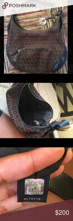 Authentic fendi handbag! Minor flaws in fair condition FENDI Bags