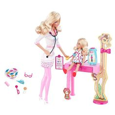 "Barbie I Can Be Doll Playset - Doctor - Mattel - Toys ""R"" Us $25.99  #savethebunnyGP"