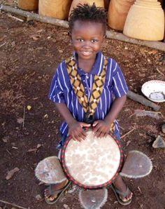 Djembe Fola Conakry Guinee W/Africa