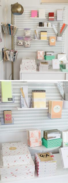 See how this sweet paper boutique gets a complete makeover with a little help from The Container Store and elfa!