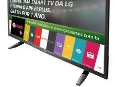 """Smart TV LED 49"""" LG Full HD 49LH5700 - Conversor Digital 2 HDMI 1 USB Wi-Fi com as melhores condições você encontra no Magazine Lojasdacrica. Confira!"""