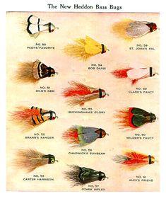 Heddon Bass Bugs, 1926