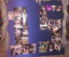 Made this for Savannah's quincenera