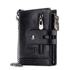 Jeep Cowhide Genuine Leather RFID Wallet | Kavi`s Fashion – Kavis Wallets