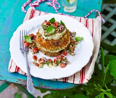 Eggplant Napoleon by Epicurious. Don't forget to replace some of the olive oil with Extravagonzo Garlic Infused Culinary Oil.