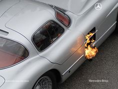 Mercedes-Benz 300 SLR Flamer