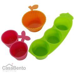 Früchte und Gemüse Silikon Cups