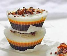 19 Fat Bomb Recipes! Looking for a high fat snack or dessert that helps you stay in ketosis? Maybe you're hungry and too lazy/exhausted to cook, or craving something sweet. Fat bombs solve all these issues in one bite.