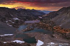 Bishop Pass Sunset by narmansk8 on deviantART