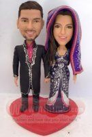 Indian Traditional Wedding cake toppers