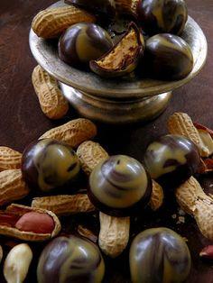 Csokoládé Reformer: Mogyoróvajas karamellás bonbon
