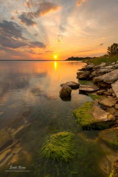Milford Lake, KS.  Photo by Scott Bean.  Don't know this spot pacifically but have been to Milford Lake many times. - Kim C.