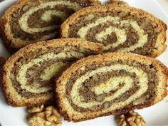 Orzechowiec zawijany - kuchnia podkarpacka Bread Recipes, Cake Recipes, Cooking Recipes, Polish Recipes, Polish Food, Good Food, Yummy Food, Dinner Rolls, Baked Goods