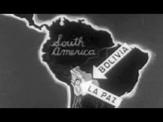 "La Paz, Bolivia: ""La Paz"" 1942 Office of Inter-American Affairs https://www.youtube.com/watch?v=YeB3w6o7sIM #LaPaz #Bolivia #SouthAmerica"
